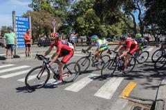 Women's Tour of N.Z. Stock Photos