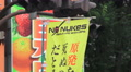 No Nukes Sign In Shinjuku Tokyo 4k or 4k+ Resolution