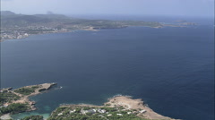AERIAL Spain-Cap Negret Stock Footage