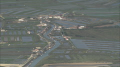 AERIAL France-Ile D'Oleron Stock Footage