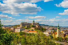 Stock Photo of Buda Castle in Budapest