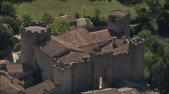 Chateau De Villerouge-Termenes Stock Footage