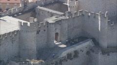 Penafiel Castle Stock Footage