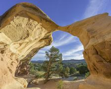Stock Photo of Rock formations in Devils Garden Escalante Utah United States North America