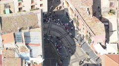 AERIAL Spain-Tarragona Stock Footage