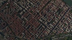 AERIAL France-Lyon From 1500 Metres Stock Footage
