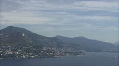 AERIAL Monaco-Wide Shots Of Monaco Stock Footage