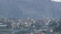 AERIAL Italy-Coastline Stock Footage
