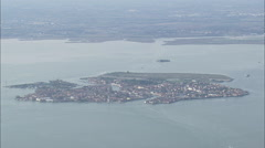 AERIAL Italy-Venice And Grand Canal Stock Footage