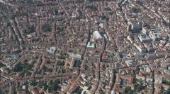 AERIAL Italy-Padova Stock Footage