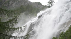 Cascata del Toce waterfall in the summer Stock Footage