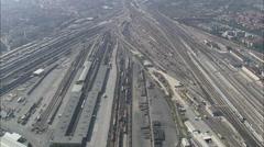 AERIAL Italy-Verona Stock Footage