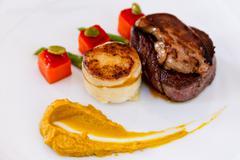 Australian premium fillet tenderloin steak. - stock photo