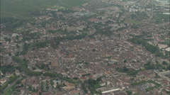 AERIAL France-Beaune Stock Footage