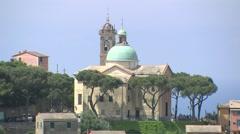 ITALY Liguria church 2/2 Stock Footage