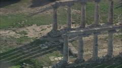 AERIAL Italy-Tavole Palatine Stock Footage