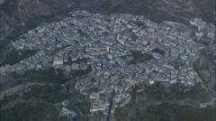 AERIAL Italy-Rossano Stock Footage
