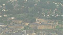 Chateau De Sedan Stock Footage