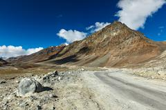Manali-Leh road Stock Photos