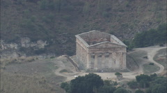The Theatre At Segesta Stock Footage