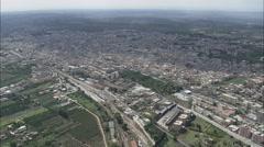 AERIAL Italy-Castelvetrano Stock Footage