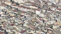 AERIAL Italy-Temple Of Juno Stock Footage