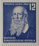 Friedrich Ludwig Jahn a German gymnastics educator and nationalist portrait on - stock photo