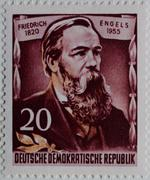 Stock Photo of Friedrich Engels a German social scientist author political theorist