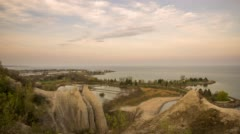 Scarborough Bluffs - stock footage