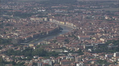 AERIAL Italy-Pisa Stock Footage