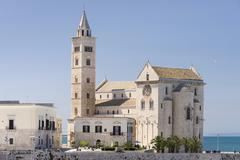 Cathedral of Trani 11th century Trani Bari Apulia Province Italy Europe - stock photo