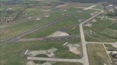 Raf Mildenhall Us Military Base Stock Footage