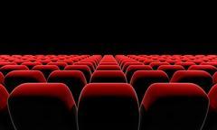 Cinema or theater seats. - stock illustration
