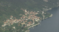 South-East Spur Of Lake Como Stock Footage