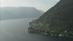 South-West Spur Of Lake Como Stock Footage