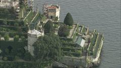 Isola Bella Gardens Stock Footage
