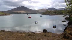 A enchanting lagoon on the Beara Peninsula, southern Ireland. Stock Footage