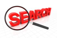 Clear search - stock illustration