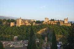 Alhambra Granada province Andalucia Spain Europe - stock photo