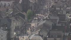 AERIAL United Kingdom-Great Yarmouth Stock Footage