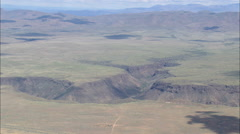 AERIAL United States-Flight With Pan Across Canyon Stock Footage