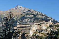 The Fort Victor Emmanuel Aussois RhoneAlpes France Europe - stock photo