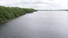 AERIAL United Kingdom-Anglezarke Reservoir Stock Footage
