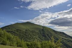 Stock Photo of Mount Cucco Mount Cucco Regional Park Apennines Umbria Italy Europe