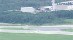 AERIAL United States-Baltimore Washington International Airport Stock Footage