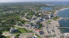 AERIAL United States-New Shoreham Stock Footage