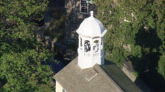 AERIAL United States-Slater Mill Stock Footage