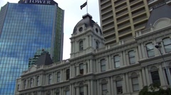 Auckland New Zealand City Life Stock Footage