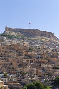 Historic centre and citadel Mardin Southeastern Anatolia Region Anatolia Turkey - stock photo