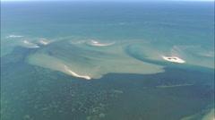 AERIAL United States-Tuckernuck Island Stock Footage